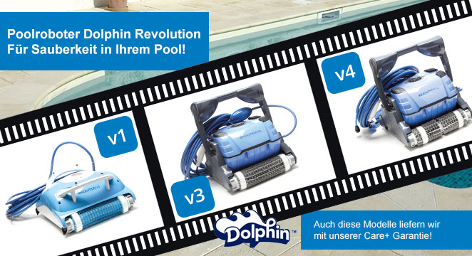 Poolroboter Dolphin Revolution