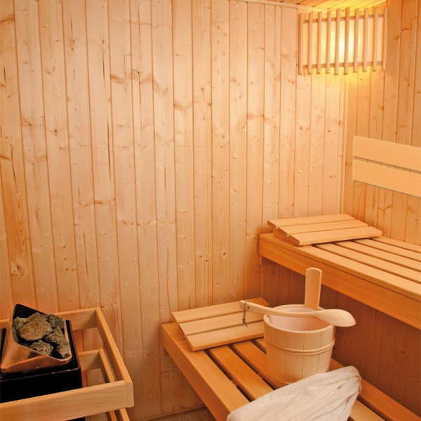 sauna kivi eck elementsauna 70 mm fichte variante 143 0x143 0x201 cm poolpowershop. Black Bedroom Furniture Sets. Home Design Ideas