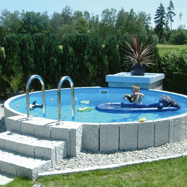 rundbecken m tief folie 0 6 mm blau variante 1 50 m poolpowershop. Black Bedroom Furniture Sets. Home Design Ideas