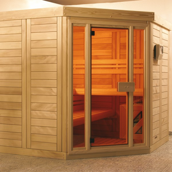 sauna supreme variante 164 4 x 164 4 cm poolpowershop. Black Bedroom Furniture Sets. Home Design Ideas