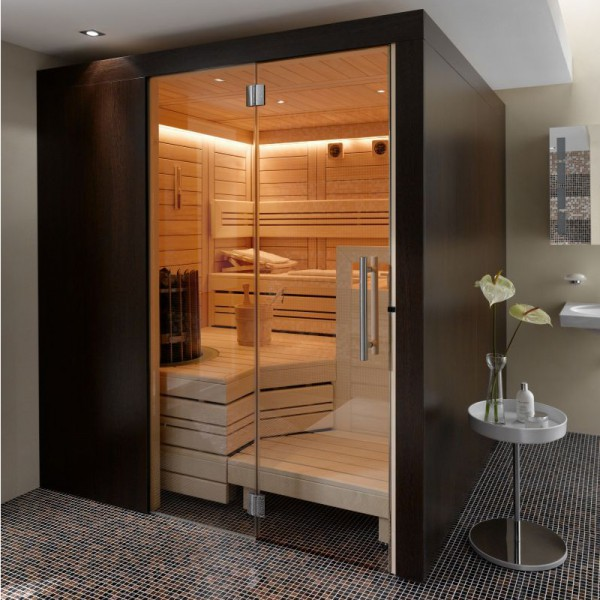 premium sauna cupreme variante 199 2 x 187 6 x 219 cm poolpowershop. Black Bedroom Furniture Sets. Home Design Ideas