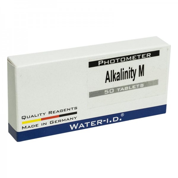 50 Tabletten Alkalinity-M für Photometer