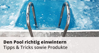 den pool winterfest machen 8 ratschl ge f r poolbesitzer poolpowershop. Black Bedroom Furniture Sets. Home Design Ideas