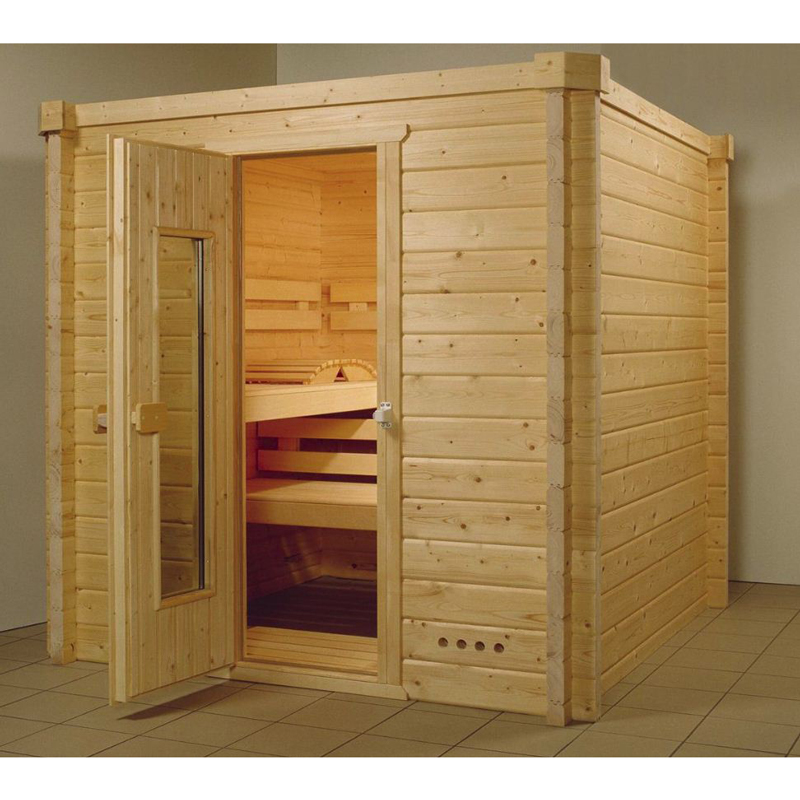 blockbohlensauna karat 58 mm 4 eck variante x m poolpowershop. Black Bedroom Furniture Sets. Home Design Ideas