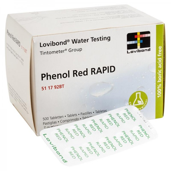 DPD Testtabletten phenolred im 500er Pack (pH) für Pooltester