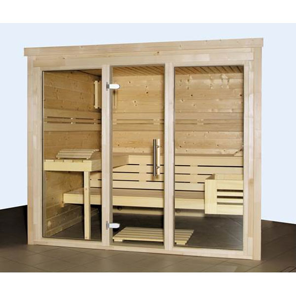 blockbohlensauna karat 4 eck new sauna poolpowershop. Black Bedroom Furniture Sets. Home Design Ideas