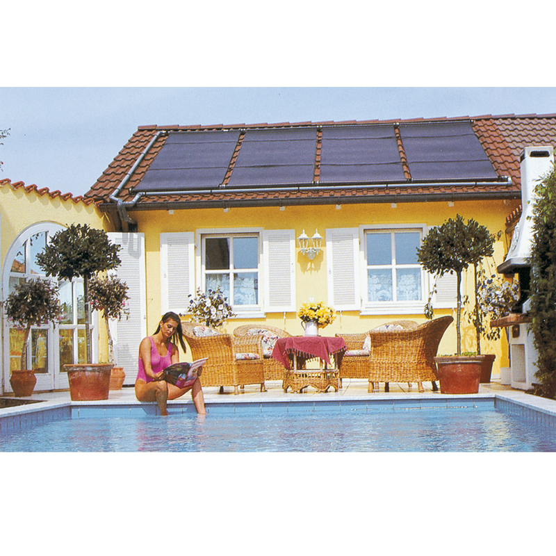 solaranlage sunny plate sp 30 f r schr gd cher poolpowershop. Black Bedroom Furniture Sets. Home Design Ideas