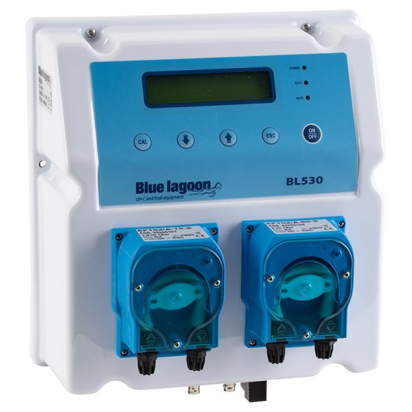 Blue Lagoon Compact Pool System pH/Redox Mess- & Dosiersystem