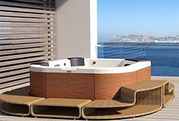 jacuzzi maxi whirlpool santorini hottub g nstig kaufen poolpowershop. Black Bedroom Furniture Sets. Home Design Ideas