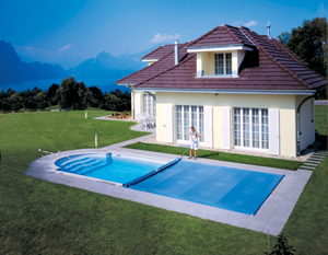 Solarplane w rmefolie f r pool kaufen poolpowershop for Gartenpool oval